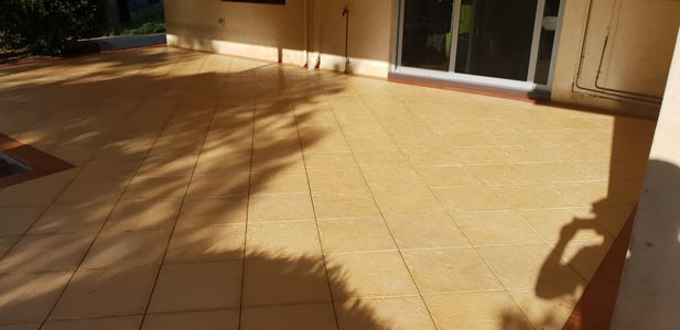 paving cleaning and sealing in Perth
