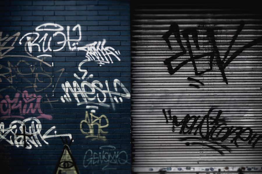 Graffiti removal Perth